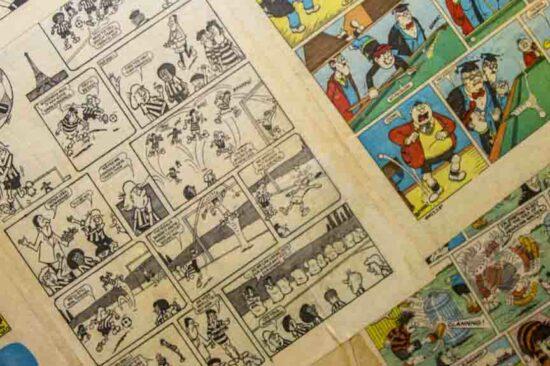 La bande dessinée d'hier, d'aujourd'hui, de demain-Cours UNIVAL